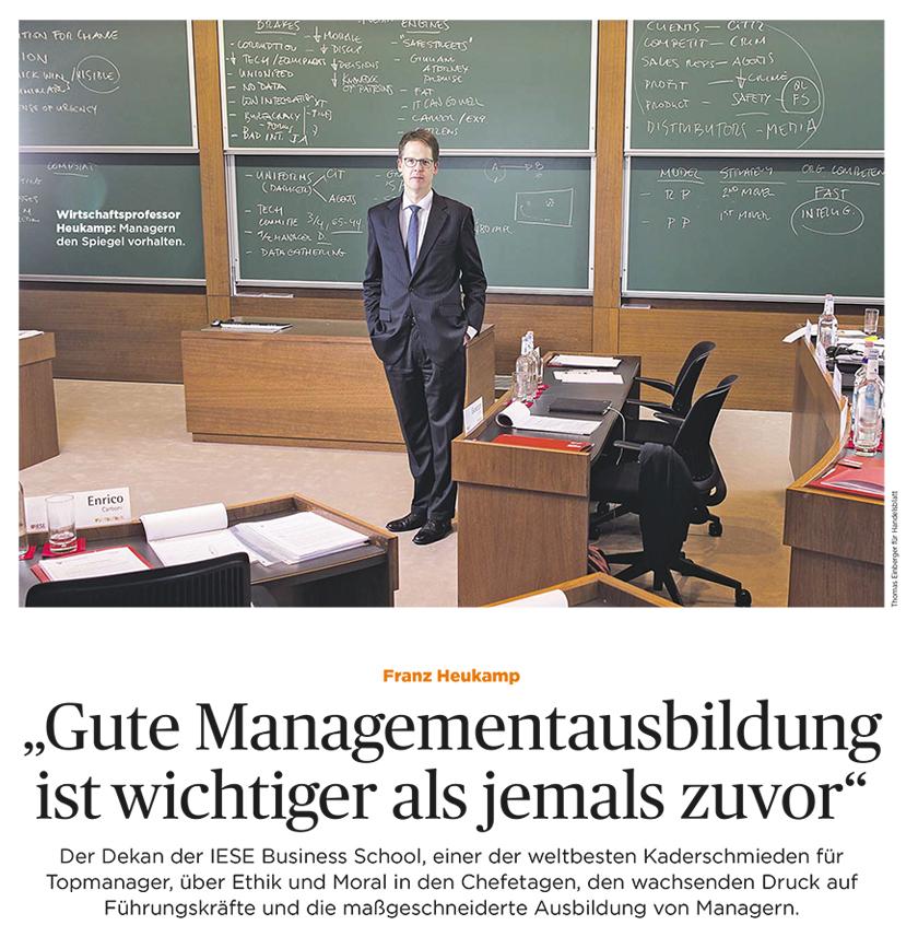 IESE Medien Handelsblatt-Heukamp 22.11.2019